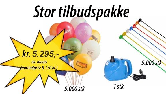 lille ballonpakke